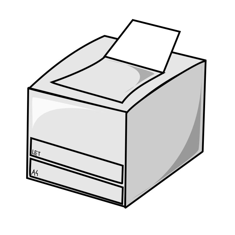 Print Clip Art.