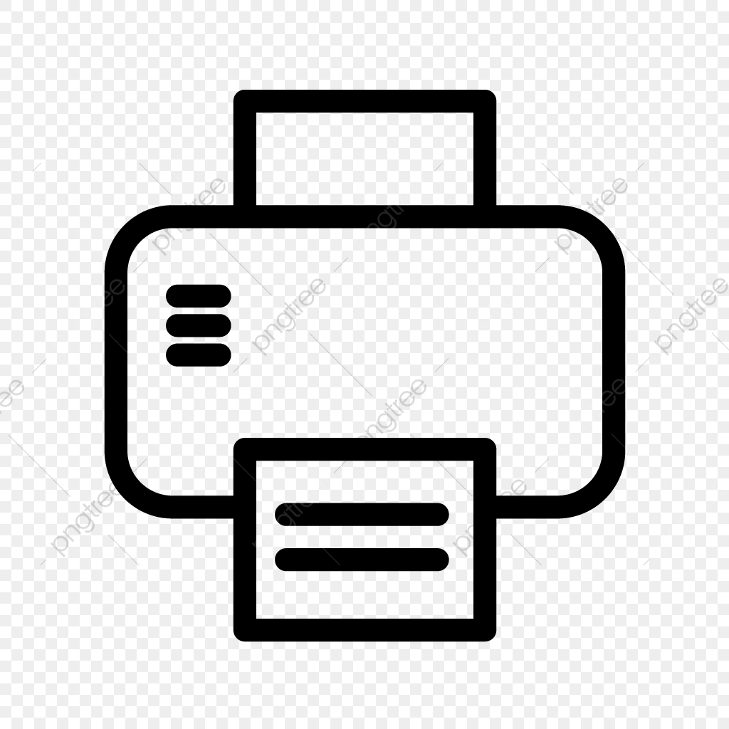 Printer Vector Icon, Print, Printer, Printing PNG and Vector.