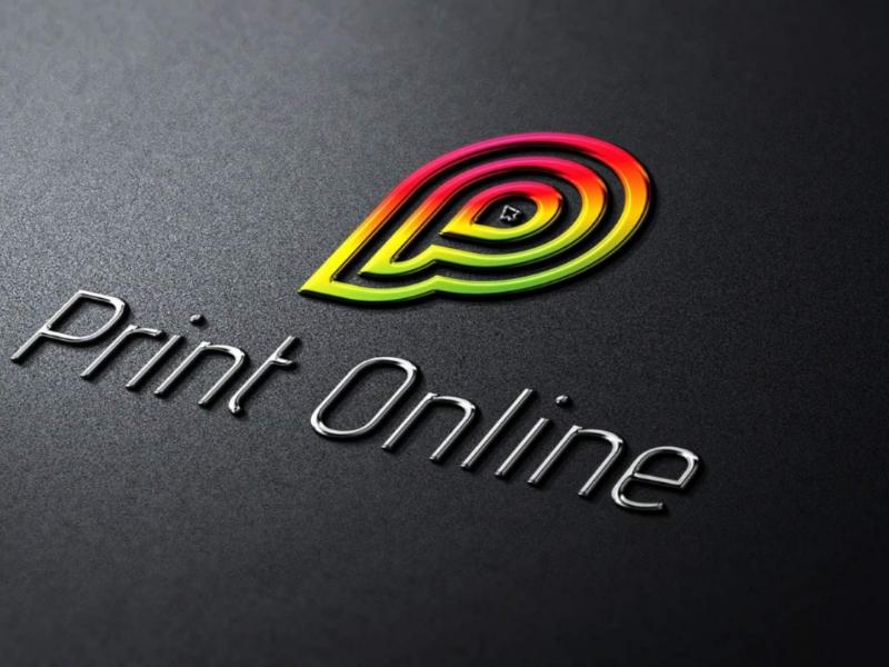 Print Online Logo by VectXpert on Dribbble.