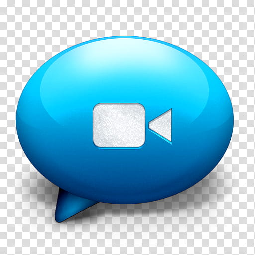 Antares Complete , iChat Blue, blue and black logo print.