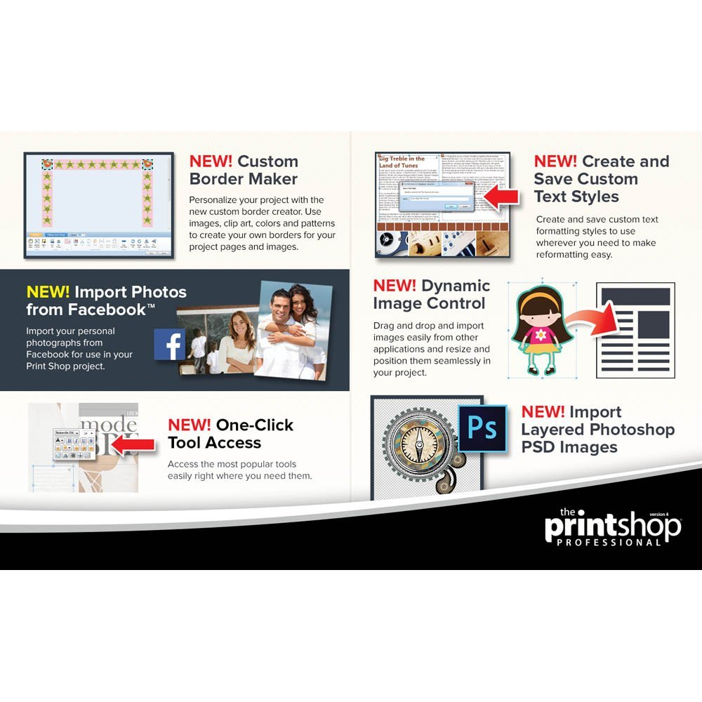 Amazon.com: Encore Print Shop Professional 4.0: Software.