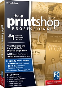 The Print Shop Professional 4.0.
