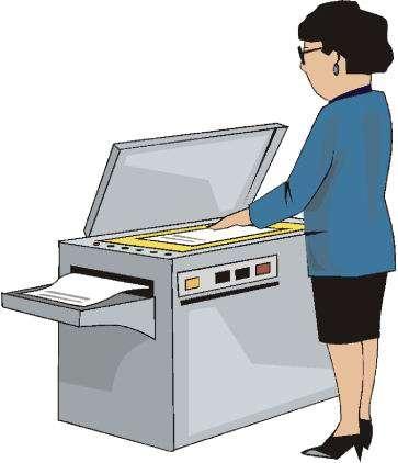 Print shop clip art.