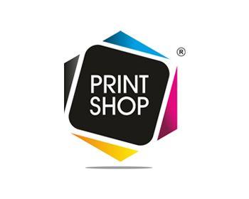 Print Shop Logo.