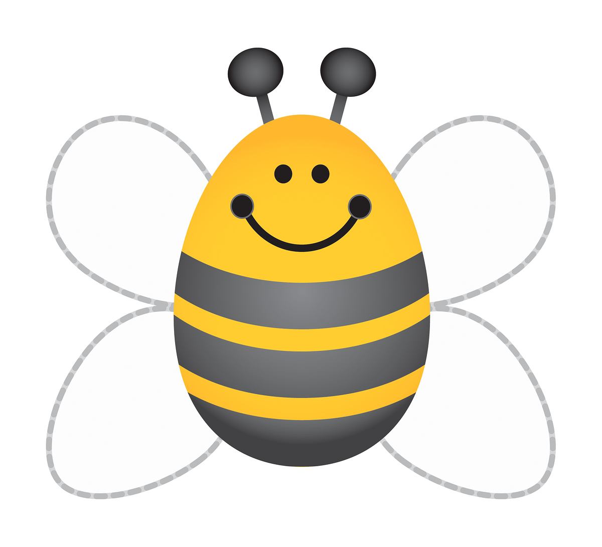 Printable Picture Of A Bee.