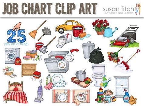 Image result for Free Printable Chore Clip Art.