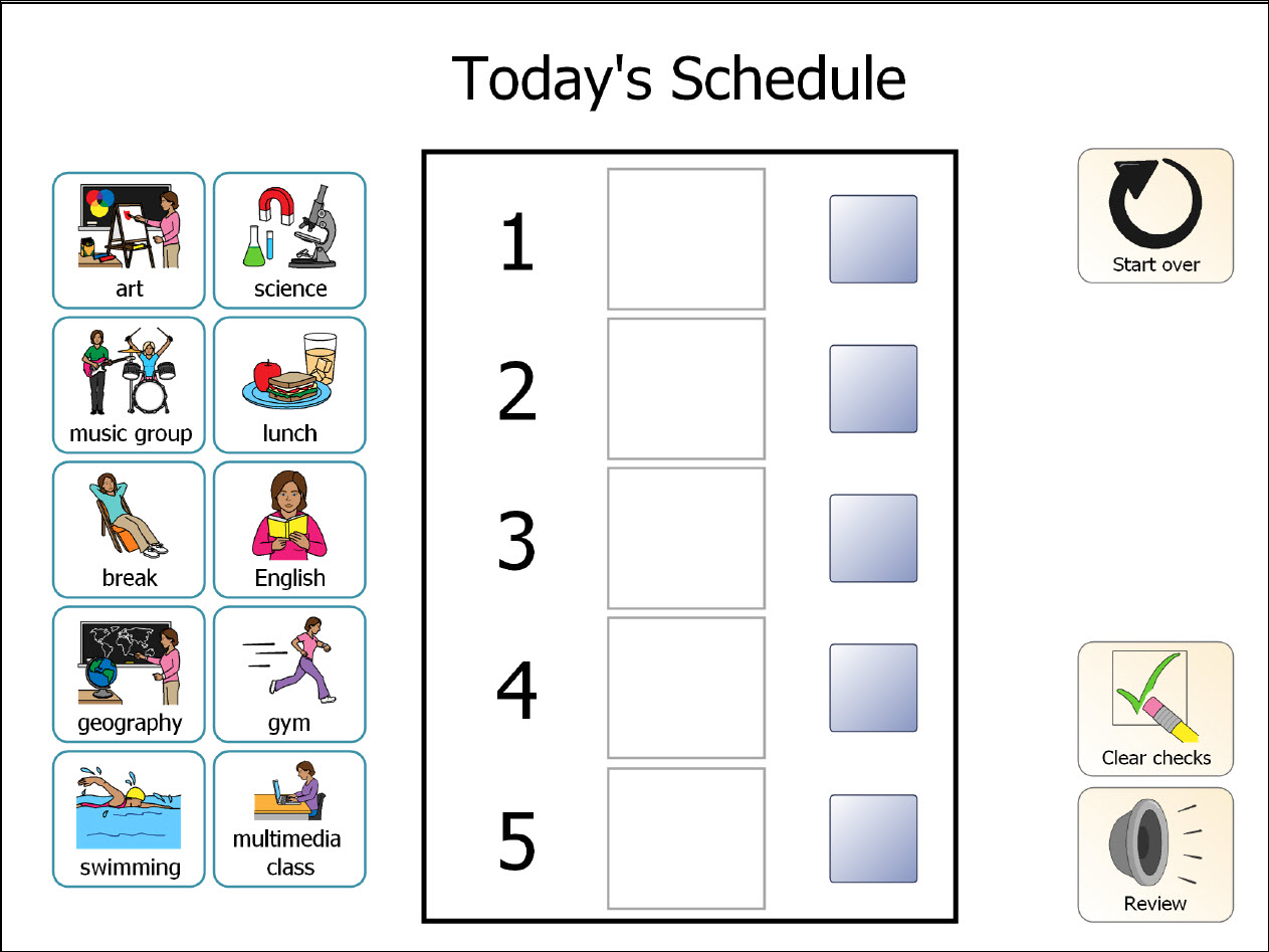 printable classroom schedule template clipart 20 free ...