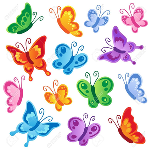 Free Printable Butterfly Clipart.