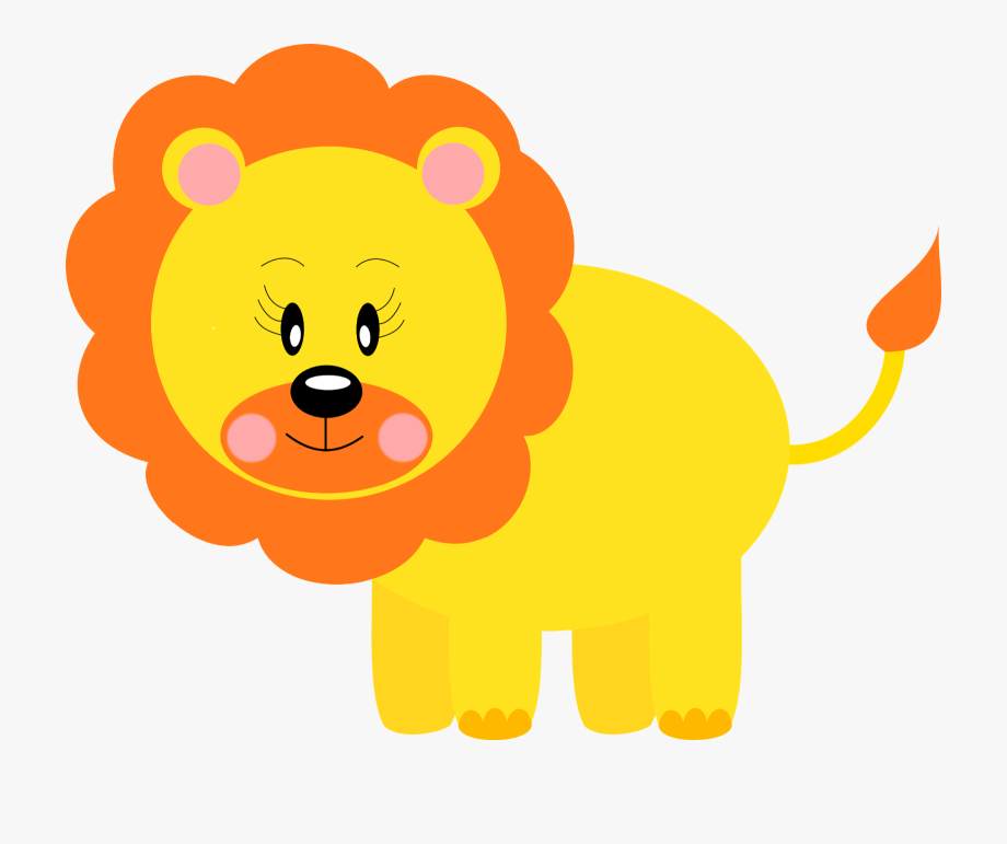 Free Printable Baby Jungle Animal Clipart.