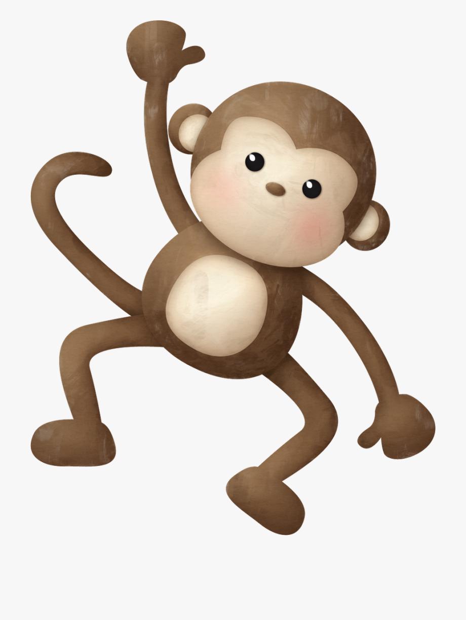 Monkey Clipart Safari Animal.