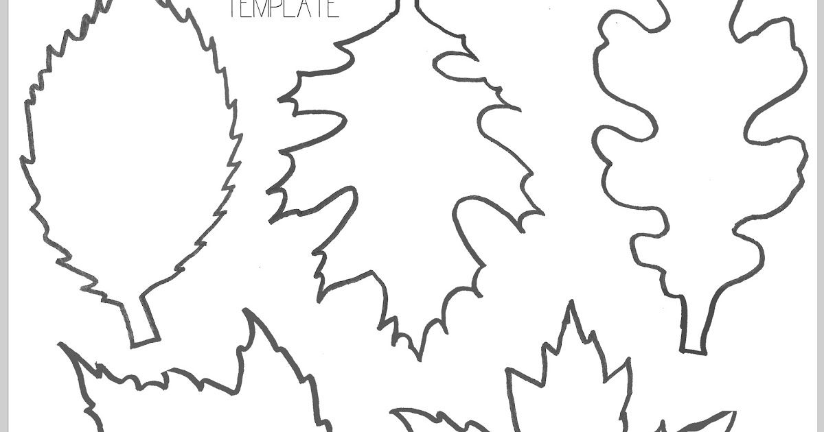 fall leaf template printable c3.