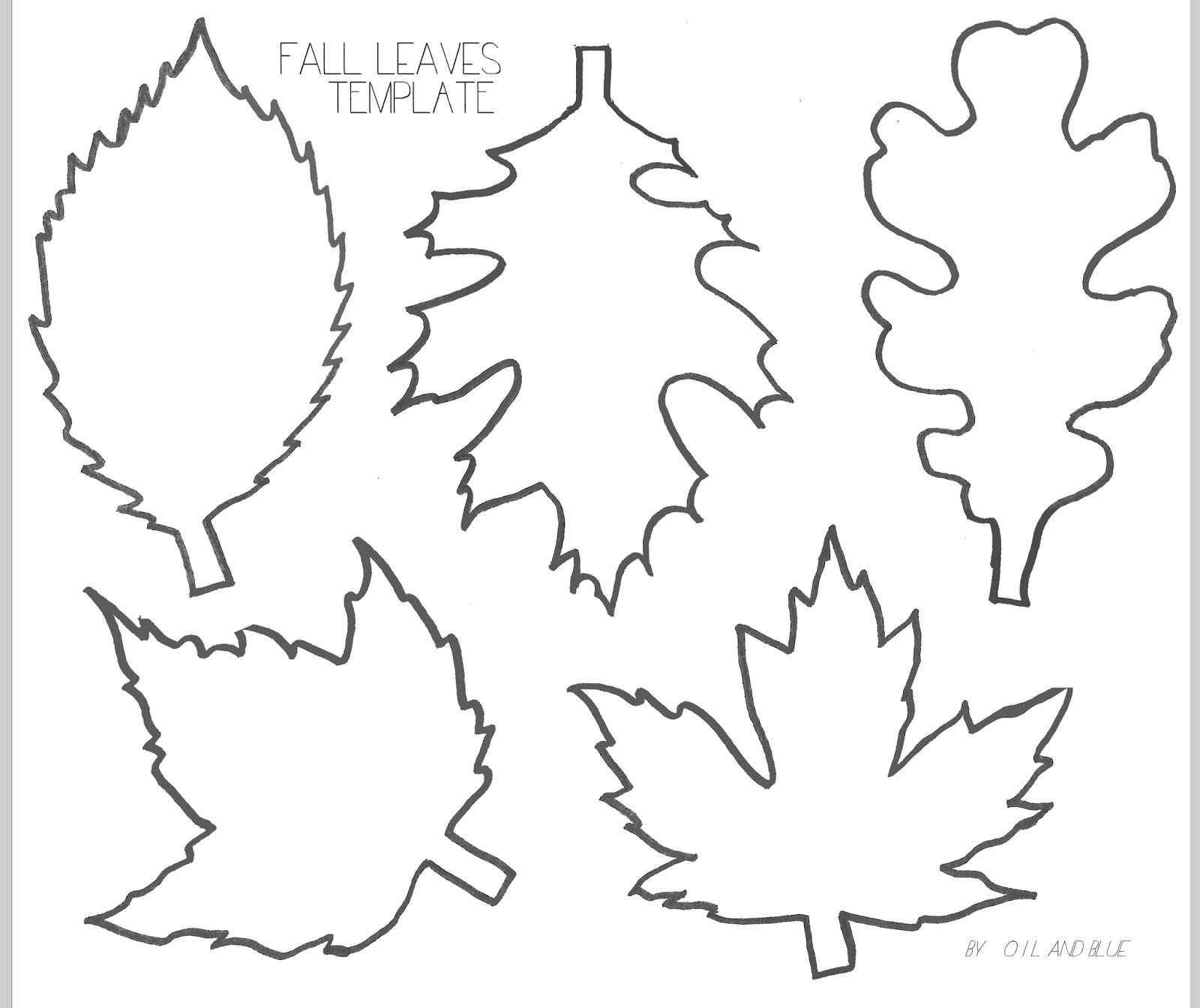 Free Leaf Template, Download Free Clip Art, Free Clip Art on.