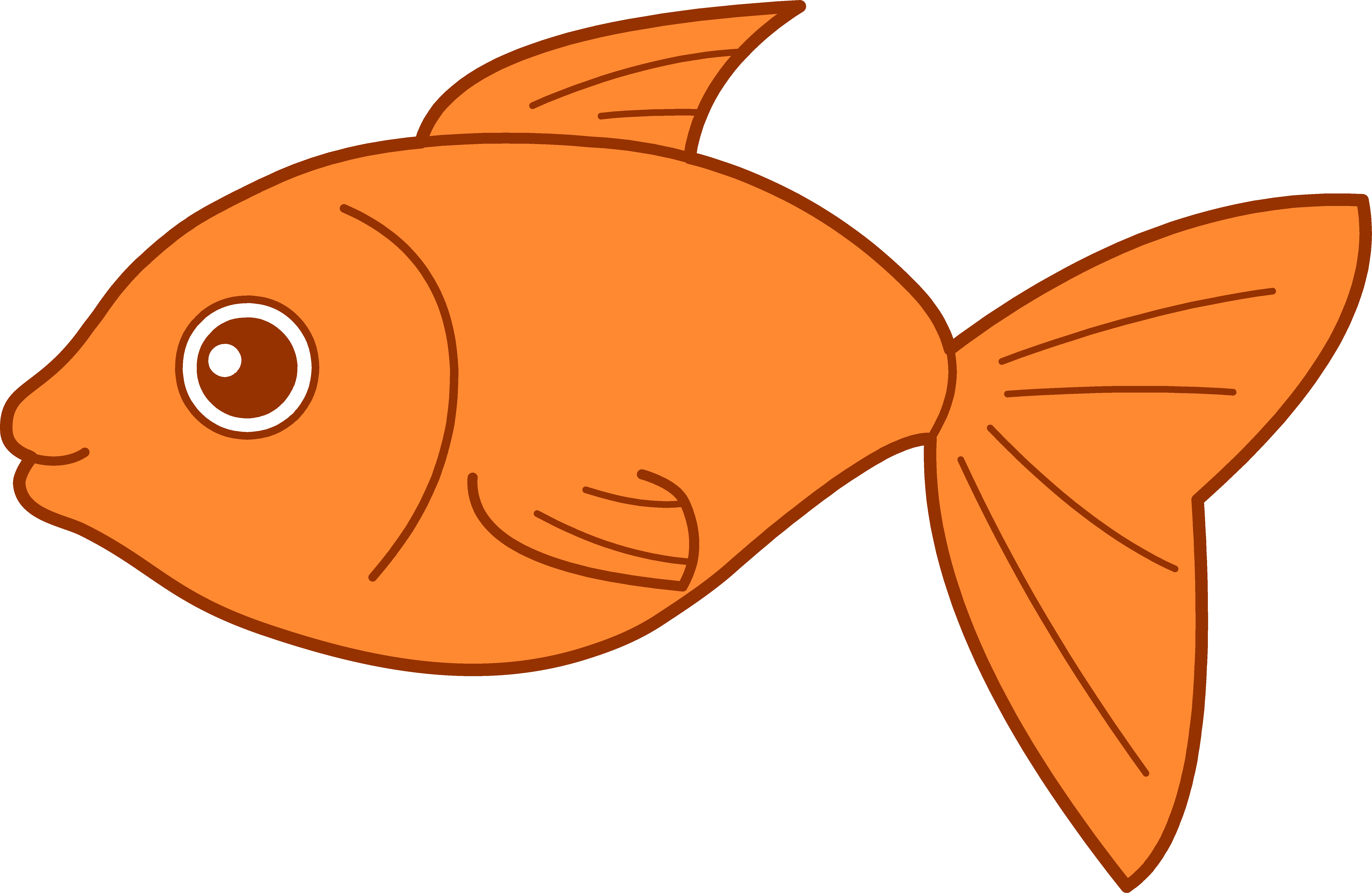 Fish Clipart to printable.