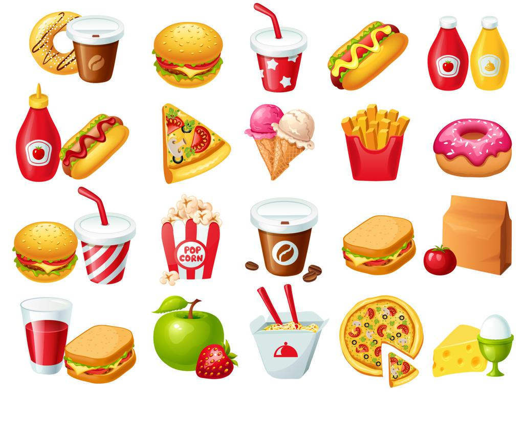 Food Items Clipart Printable 165.