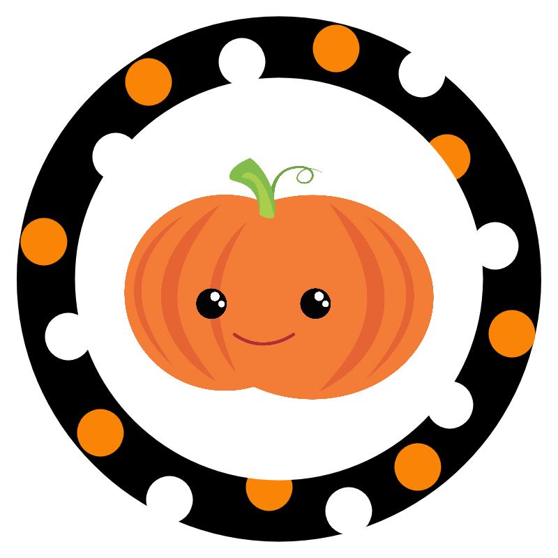 Free Printable Halloween Stickers.