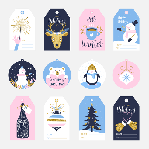 Printable Holiday Gift Tags.