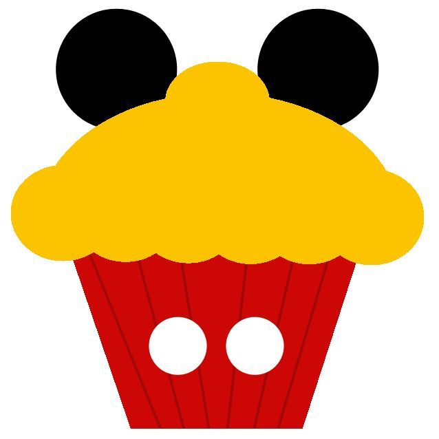 Mickey Mouse Cake Clipart.