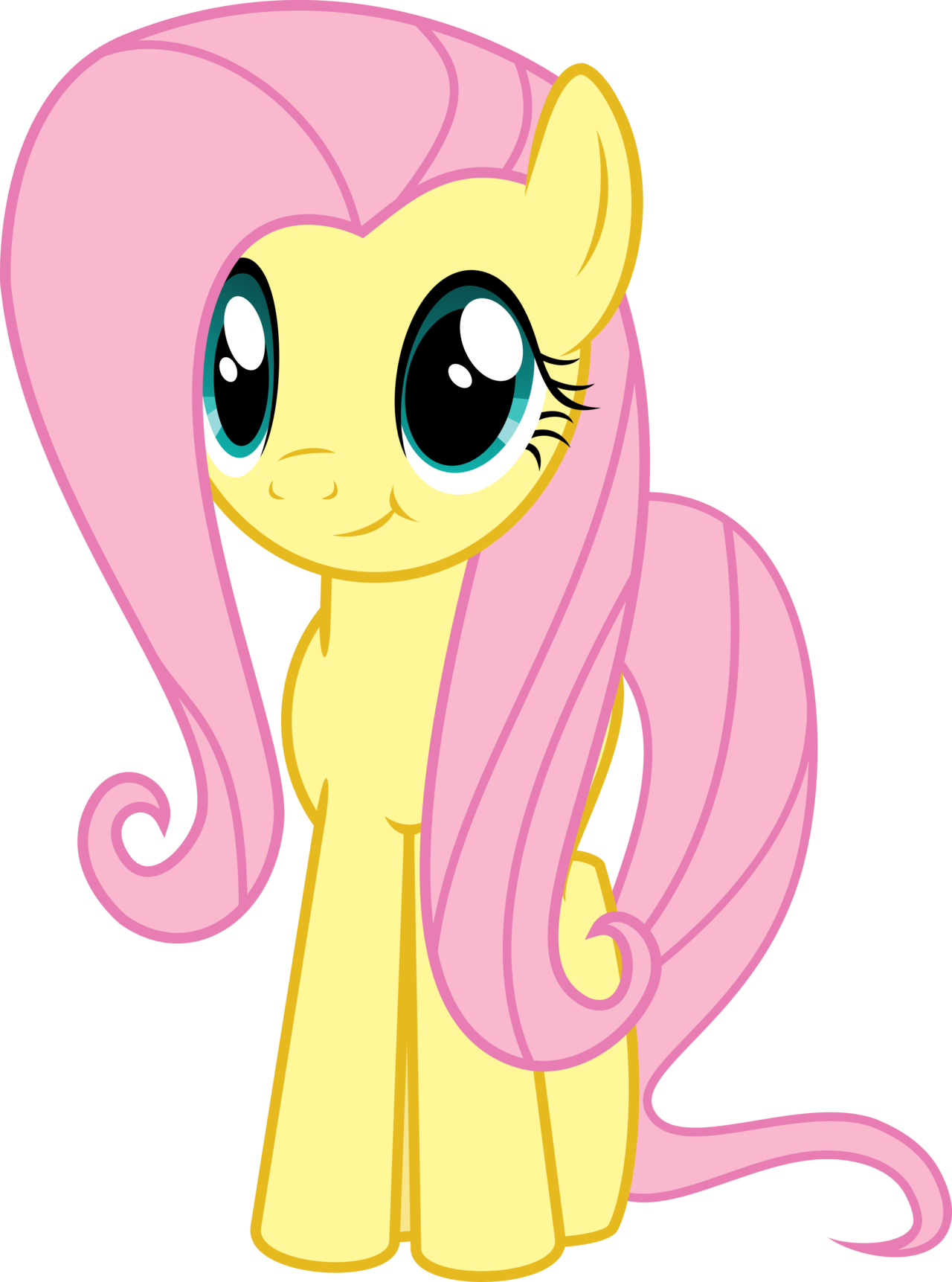 My Little Pony Fluttershy Clipart.