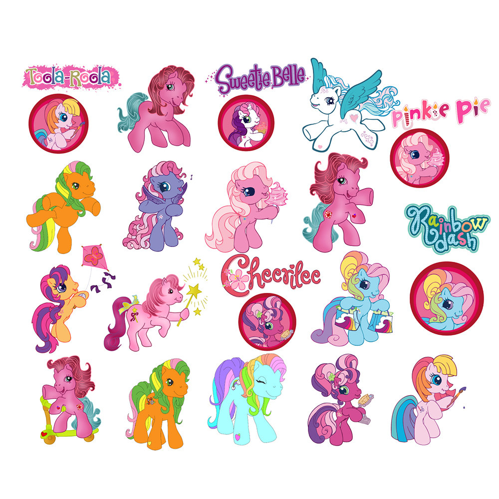 My Little Pony Printable Clipart.