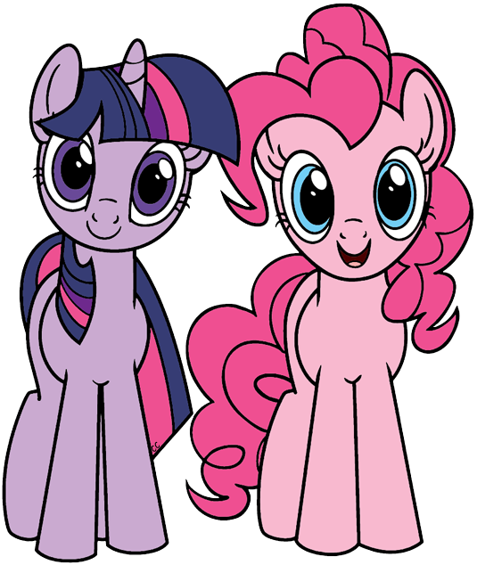 My Little Pony Friendship is Magic Clip Art Images.
