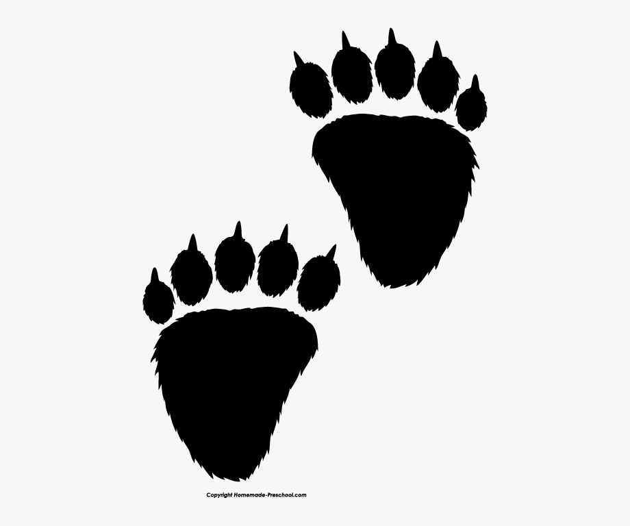 Free Paw Prints Clipart.