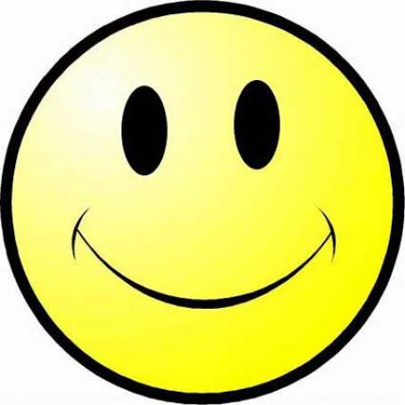 Smiley Face Printable Clipart.