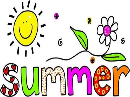 Happy Summer Clip Art.