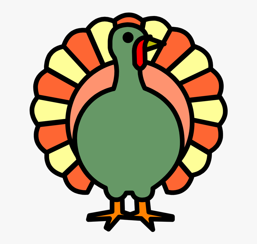 Preschool Coloring Pages Turkey Clipart , Png Download.