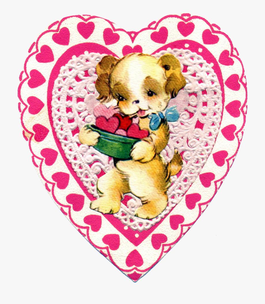 Free Vintage Valentine Clipart.