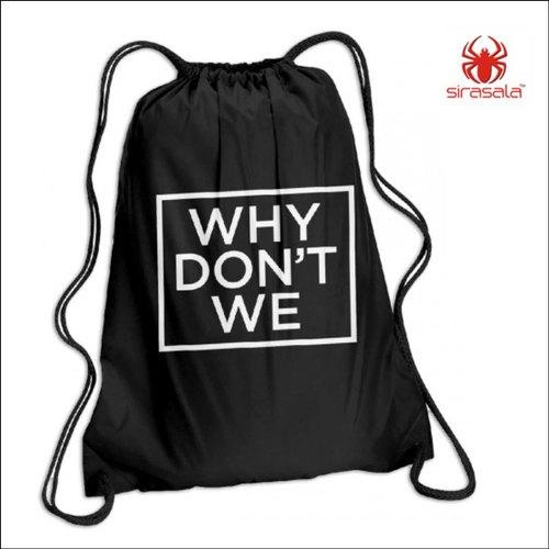 Logo Printed Drawstring Bags.