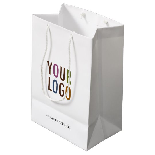 Custom Printed Shopping Bag with Your Company Logo.
