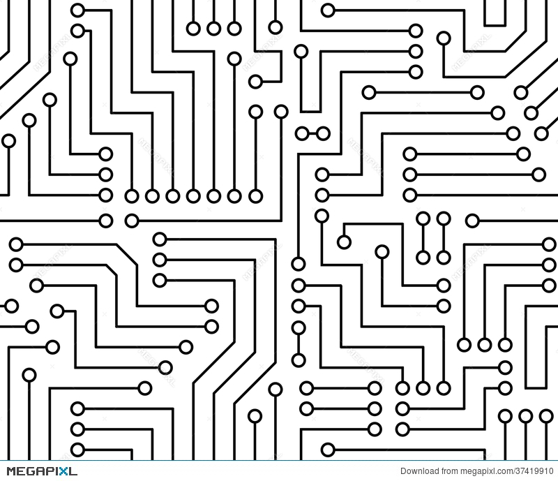 printed circuit board clipart