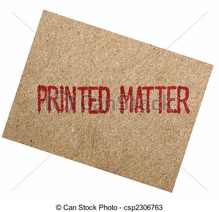 Stock Photos of Printed matter csp2306763.