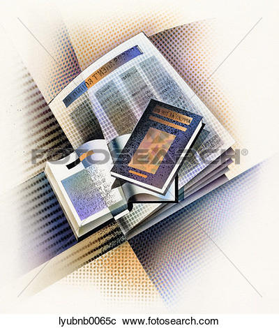 Stock Photography of literature, reading, printed matter, books.
