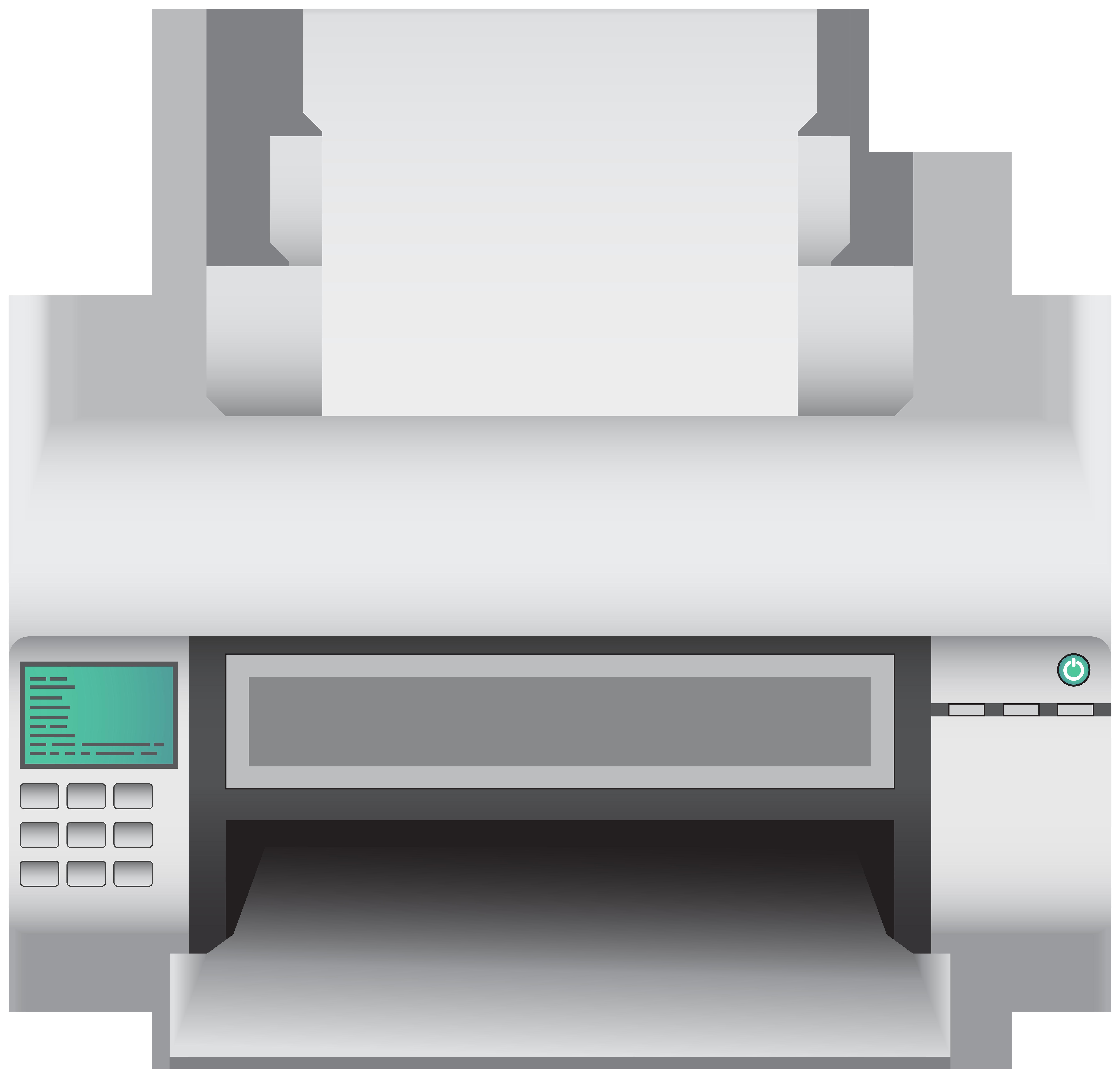 Printer PNG Clip Art.