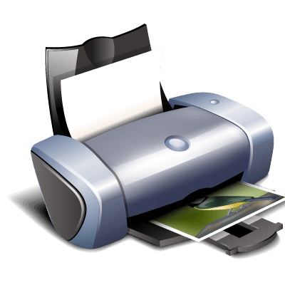 Clipart Printer transparent PNG.