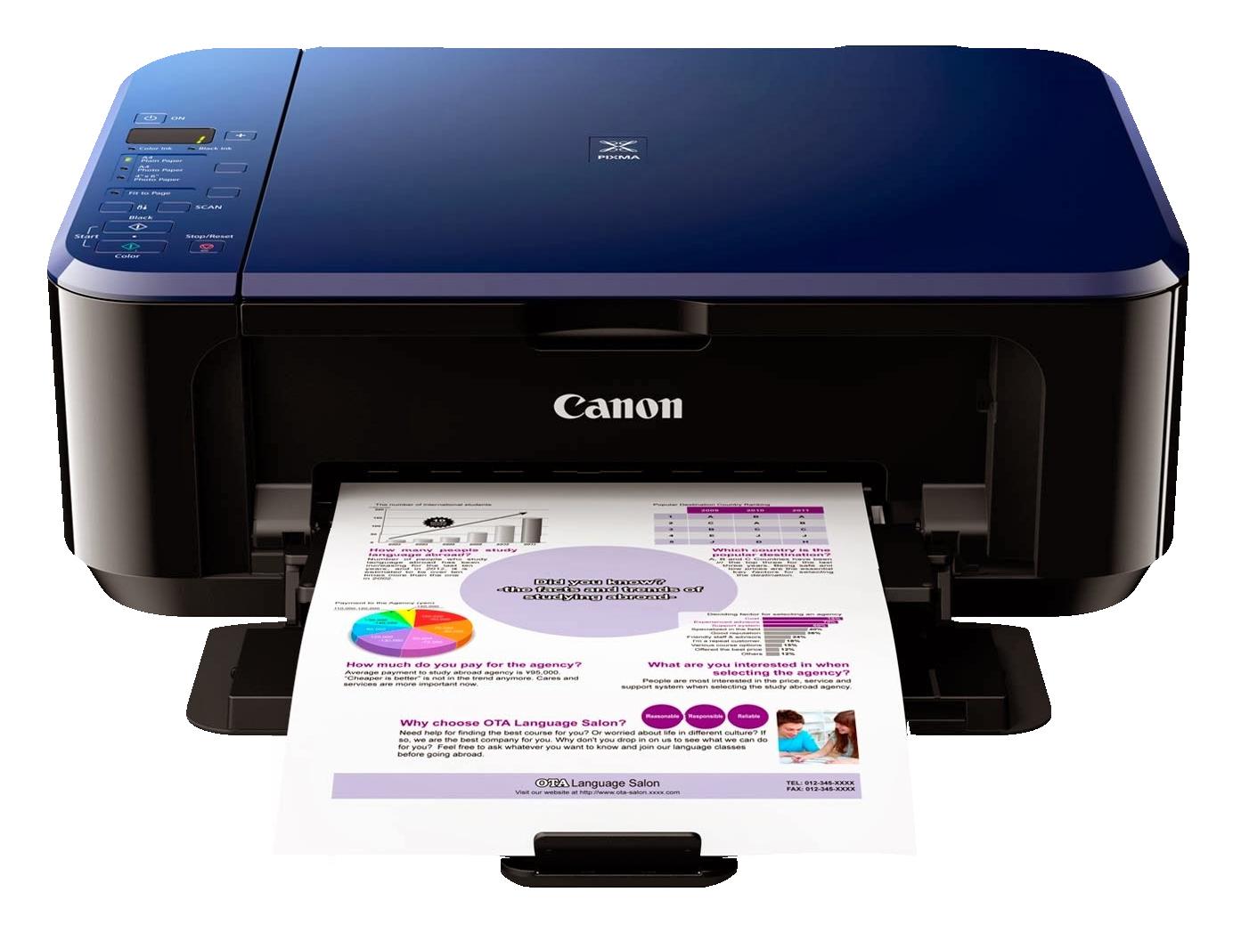 Canon Color Photo Printer PNG Image.
