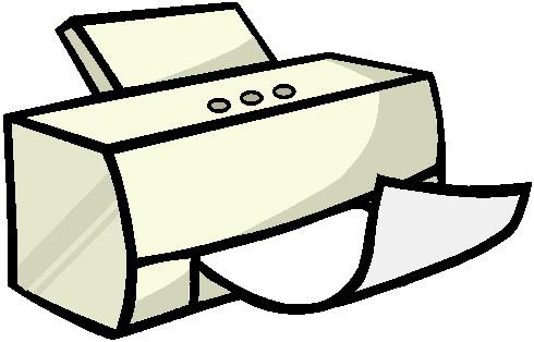 Printers Clip Art.