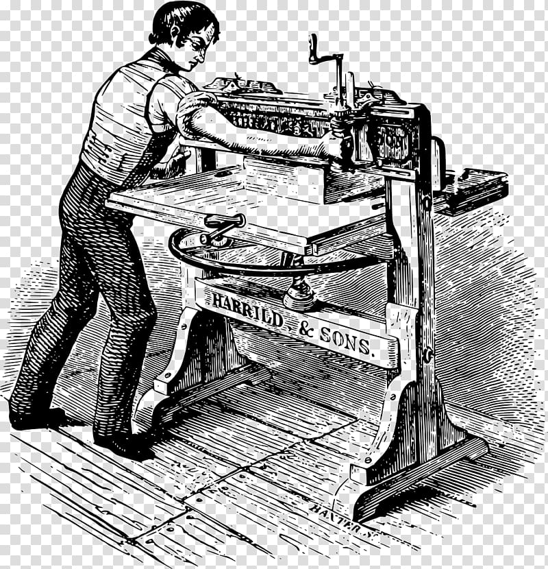 Paper Printing press THE ART OF BOOKBINDING. A PRACTICAL.