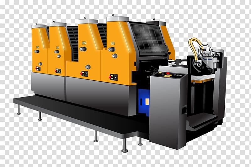 Machine Offset printing Printing press Flyer, mid creative.