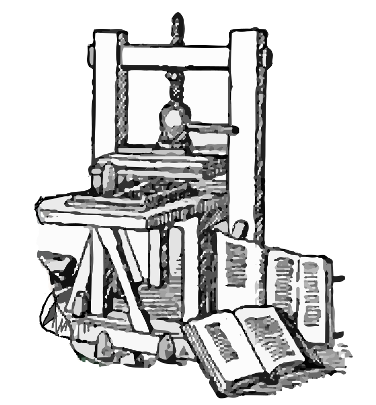 Download Free png Printing Press.