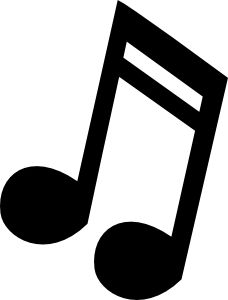 Musical Note 3 Clip Art site to print out free music notes for.