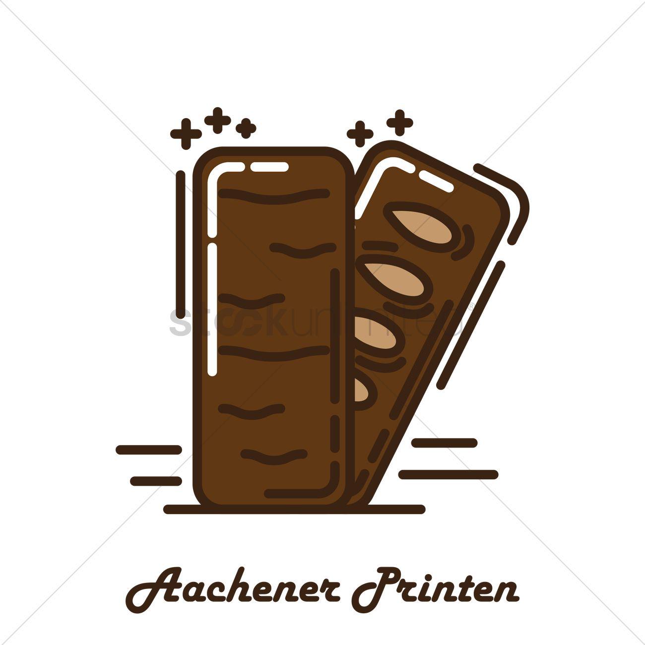 Aachener printen Vector Image.