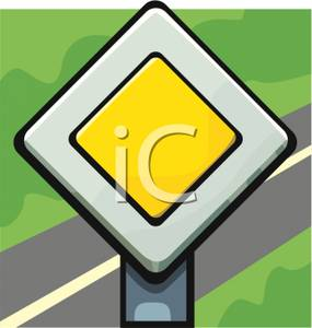 European_Priority_Road_Sign_Royalty_Free_Clipart_Picture_090615.