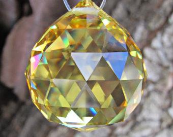30mm crystal ball.