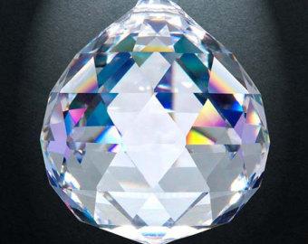 Crystal ball prism.