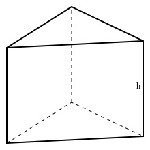 Right Triangular Prism Clipart.