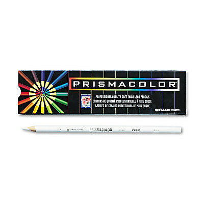 Prismacolor Premier Colored Pencil White Lead/Barrel Dozen 3365 70735033659.