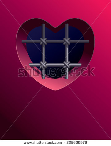 Vector Images, Illustrations and Cliparts: Prison window with a.