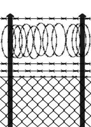 Fence Clip Art, Vector Fence.